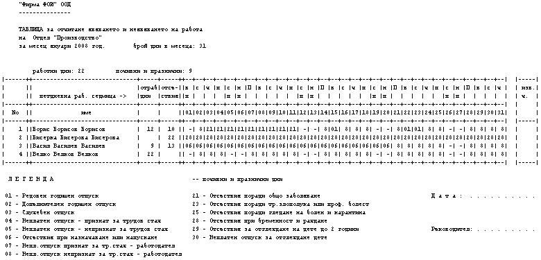 форма 76 у образец